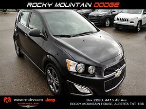 2014 Chevrolet Sonic RS Auto **Rare Turbo** Hatchback LOW KMS! H