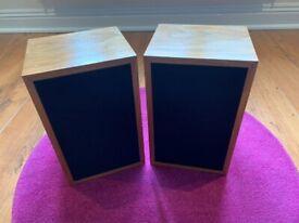 Linn Kan Mk1 speakers walnut finish