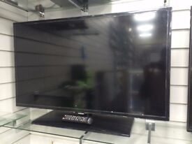 "BRAND NEW 39"" SAMSUNG LED TV - MOUNTED STAND - BLACK-"