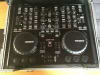 Reloop disc jockey master edition 2 controller and reloop flightcase