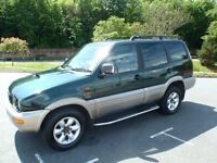 "Nissan Terrano II 1999 Great workhorse ""Geat car, 4X4 , reliable, Towbar """