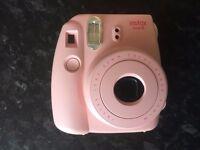 Instant Camera - Fujifilm Pink Instax Mini 8