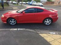 2004 Hyundai Coupe, 13 months MOT, 79k only, nice ride!
