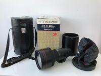 Tokina AT-X 300AF 300mm f2.8 lens Nikon AF fit