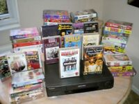 73 GREAT FILMS WITH WORKING VHS PLAYER