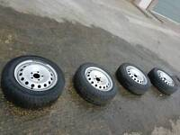 FULL SET TRAFIC VIVARO PRIMASTAR 195 65 r 16 WHEELS AND TYRES