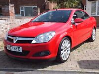 2007 Vauxhall Astra 1.8 Twin Top Exclusiv, 38,000 Miles