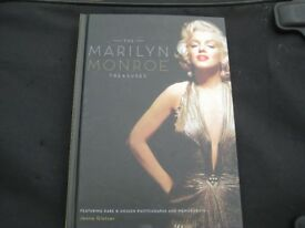 The Marilyn Monroe Treasures - Colour Hardback Telling Her Story