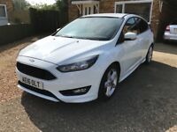 Ford Focus 1.0 T EcoBoost Zetec S (s/s) 5dr Touchscreen Satellite Nav
