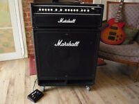 "Marshall Bass Amp MB450 Head with Marshall MB600w 15"" speaker cabinet"