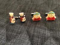 2 x South Park Cufflinks