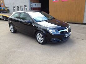 09 PLATE VAUXHALL ASTRA 1.4 SXI 3DR 53500MILES IN BLACK £2995