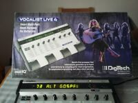 Digitech Vocalist Live 4 _ As new