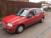 1996 Renault Clio only 2 previous owners good run around reliable MOT till September 2017