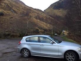 BMW 120i low miles. F.S.H