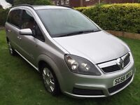 Superb Value 2006 56 Zafira 1.9 Club CDTI Diesel 7 Seater People Carrier 85000 Miles July 2017 MOT