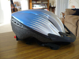 Adults cycle helmet as new, used only twice. with effective size adjustment