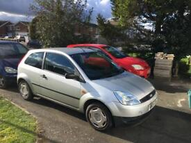 Low mileage carefully owned ford fiesta Diesel 1.4 in good condition