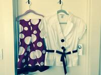 New size 6 set of Blazer and Skirt
