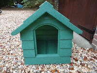 Plastic Dog Kennel in Green