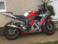 Yamaha yzf r6 2004 5sl