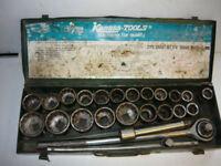 Kamasa 3/4 drive Socket Set 4985. Collection in Dereham.