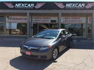 2012 Honda Civic EX-L AUT0 NAVI LEATHER SUNROOF 81K