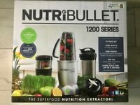 NutriBullet 1200 Series, BRAND NEW with receipt