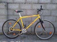 mens bike 26'' yellow