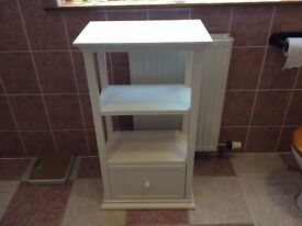 White Company bathroom cabinet