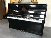 Herman Mayr Gloss Black Piano & Adjustable Stool - CAN DELIVER