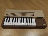Bontempi children's toy electronic organ