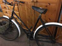 Vintage bike. Original. Needs a clean and tyres pumped etc..