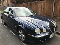 Jaguar S-Type V6 SE 2967cc Petrol Automatic 4 door Saloon T Reg 27/04/1999 Blue