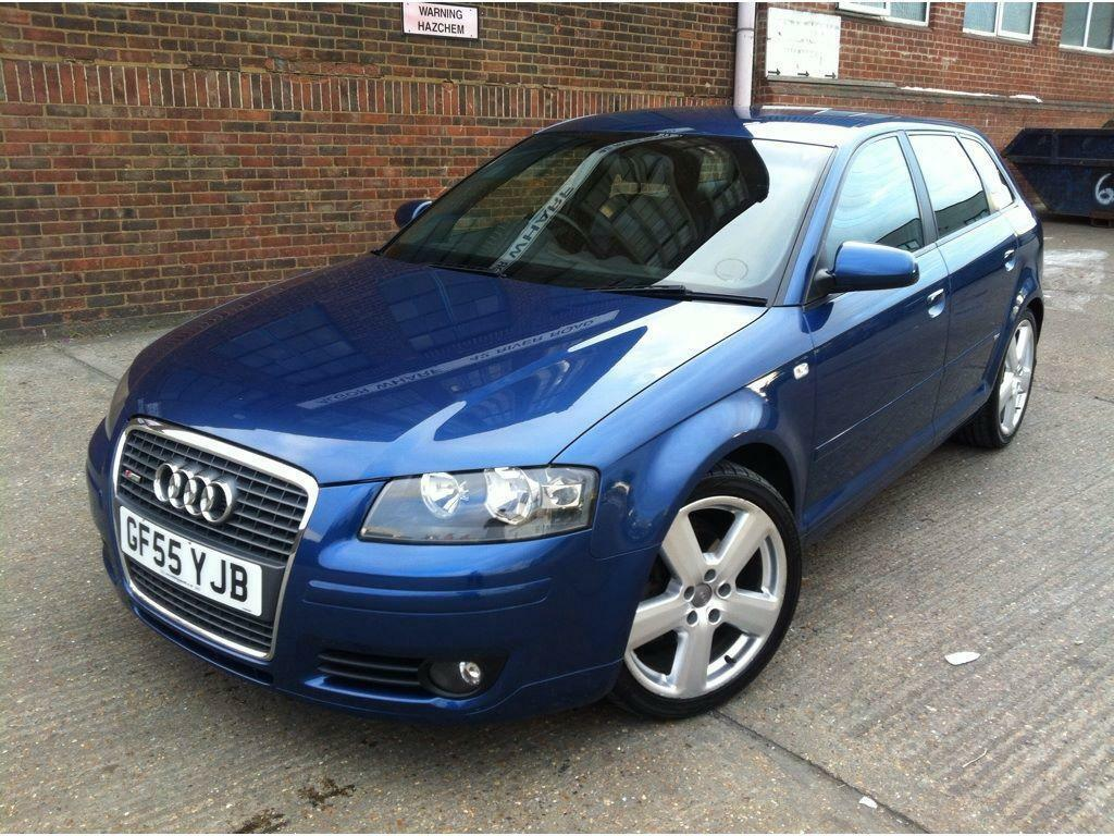 audi a3 1 9 tdi s line sportback 5dr automatic fsh leather long mot diesel in barking london. Black Bedroom Furniture Sets. Home Design Ideas