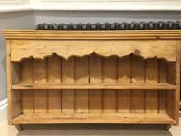 Antique pine rack, nice condition