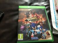 New Xbox one game sonic forces bargain £25