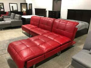 Brand New Top grain leather Reclining Bretola Chairs (Set of 4-$999) or $249.99 each