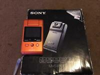 Sony mini camcorder MHS-PM1