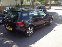 VW GOLF 4MOTION V6 BLACK/FULL RECARO LEATHERS /3 KEEPERS/FULL HISTORY/STUNNING.
