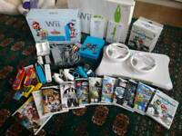 Boxed massive wii bundle with limited edition Mario and sonic console