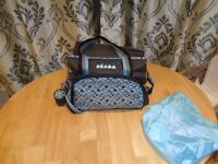 beaba used changing bag