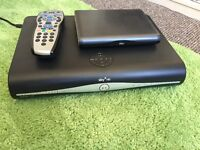 Sky+ HD box and router