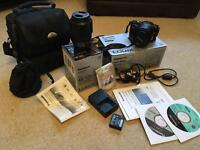 Panasonic Bridge Camera DMC-GF3K with Extra Lens, Case and Accessories
