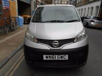 2011 NISSAN NV200 15DCI CAR DERIVED VAN YEAR MOT S/HISTORY BLUETOOTH ELECTRIC PACK EURO5 REAR CAMERA