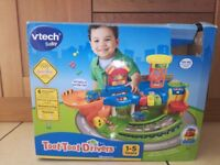 Toot toot drivers v tech toys with accessories good condition with box