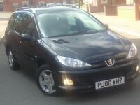 Peugeot 206 2006reg Estate 1.4 HDi Verve 1owner Full service history waterpump belts replaced