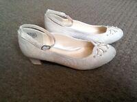 Girls bridesmaid/holy communion shoes