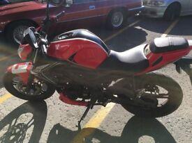 AJS TN12 125cc motorcycle motorbike sportsbike tn12 naked