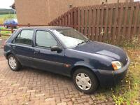 Ford Fiesta 2001 1.3l 9 months MOT Spares/Repairs